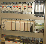 Electric cabinet with Allen Bradley PLC